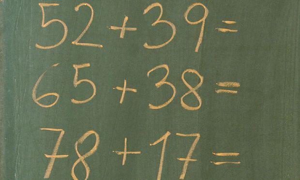 Mathematik kommt nicht Intelligenz
