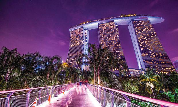 Top. Das Marina Bay Sands in