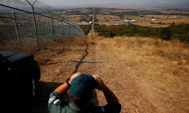 Grenze Bulgarien Turkei Der Zaun Hat Die Sicherheit Erhoht