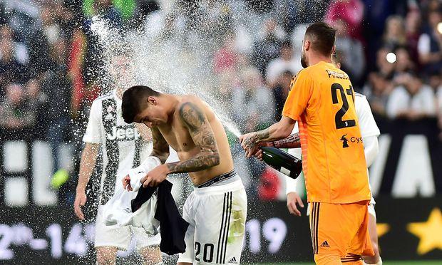 Juventus feiert