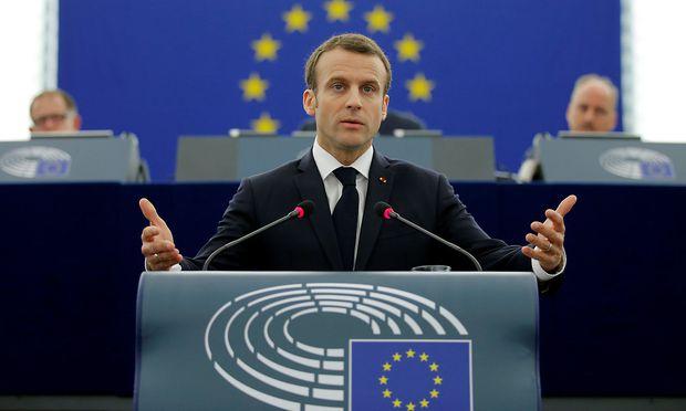 Frankreichs Präsident Macron will mehr ins EU-Budget einzahlen.