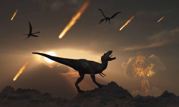 Symbolbild: Die letzten Tage der Dinosaurier.