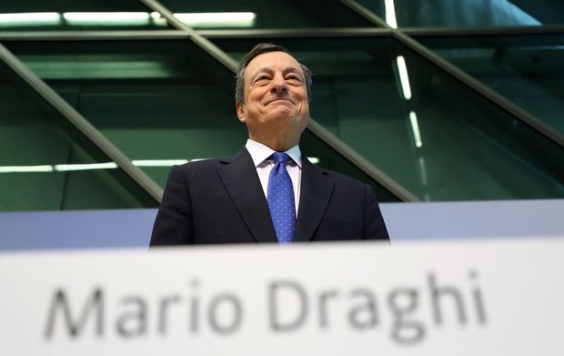 FILE PHOTO: ECB President Draghi addresses a news conference at the ECB headquarters in Frankfurt / Bild: (c) REUTERS (Kai Pfaffenbach)