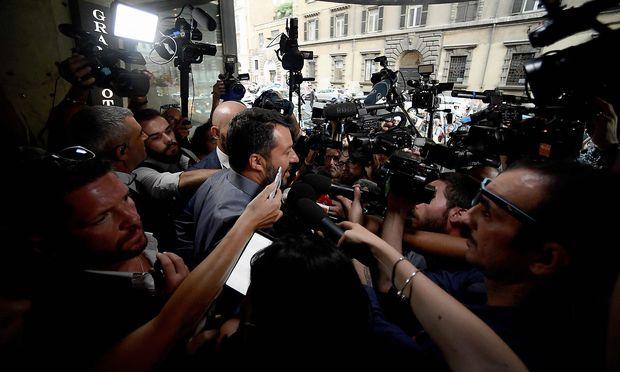 Salvini will seine Partei zur stärksten Kraft im Parlament machen.