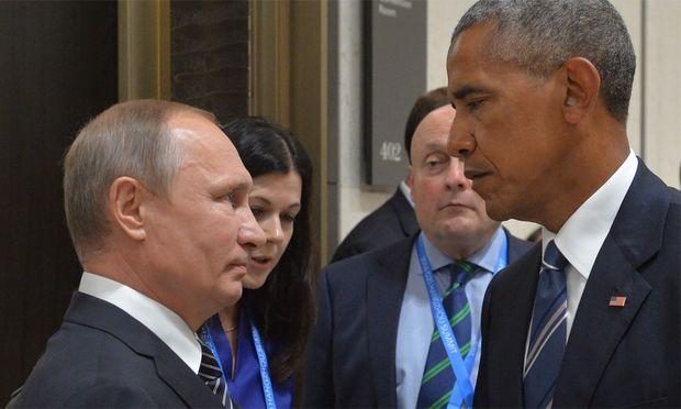 Schon beim G20-Gipfel waren die Blicke nicht gerade freundlich.
