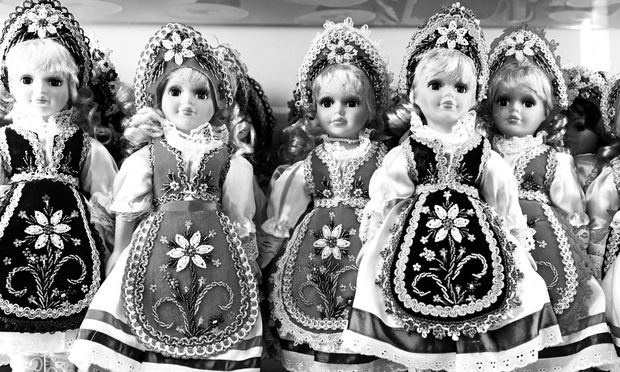 Wo sind nur die Verwandten? Ungarn-Souvenirs.