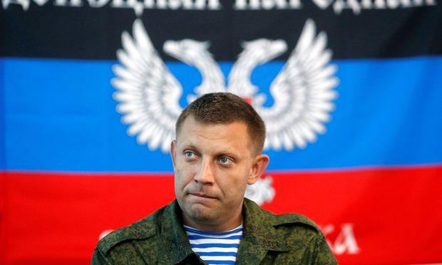 Separatistenchef von Donezk bei Bombenanschlag getötet: ukrainische Verdächtige festgenommen | Politik