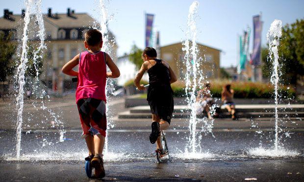 Die Zahl der Hitzetage in Österreich wird bis 2048 deutlich steigen.