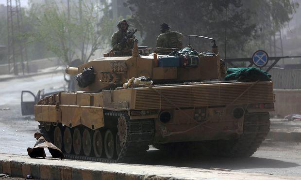 Türkische Armee bringt Afrin unter Kontrolle
