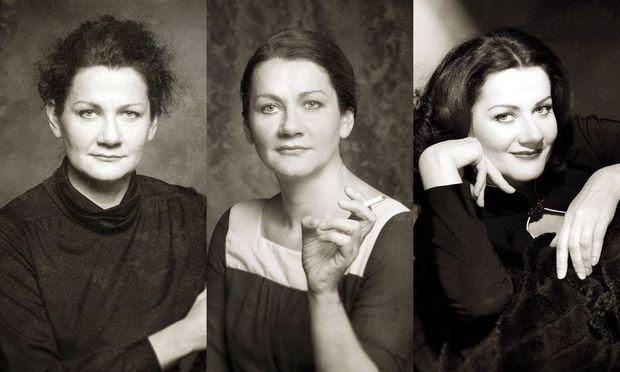 Anita Zieher feiert das Jubiläum ihres Vereins Portraittheater.
