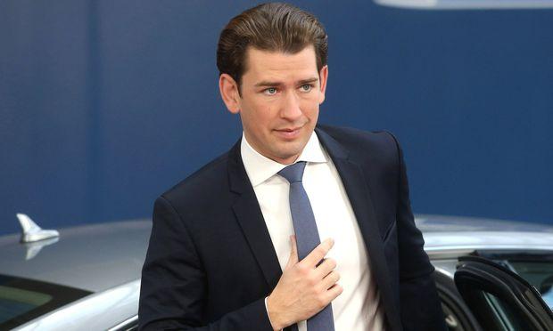 Kanzler Sebastian Kurz.
