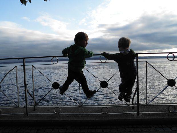 Kinder am Bodensee