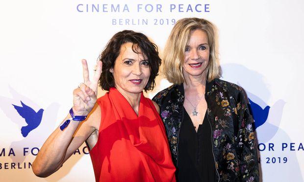Ulrike Folkerts und Katharina Schnitzler