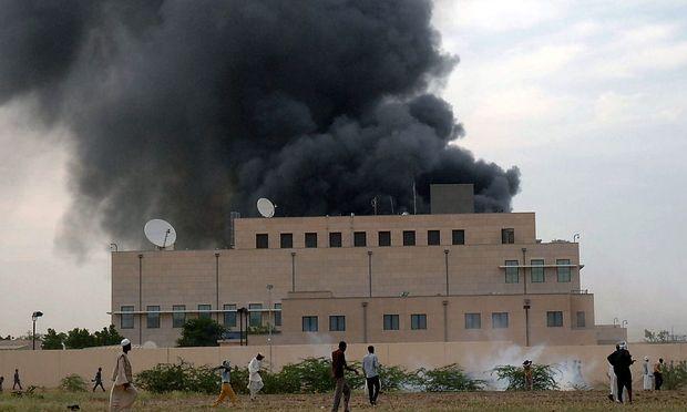 SUDAN US ANTI ISLAM FILM PROTEST