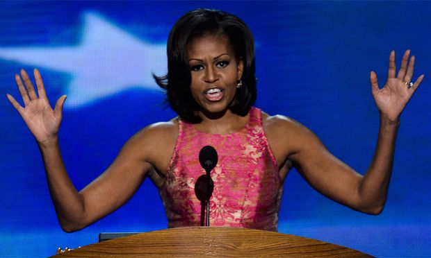 Michelle Obama laesst Demokraten
