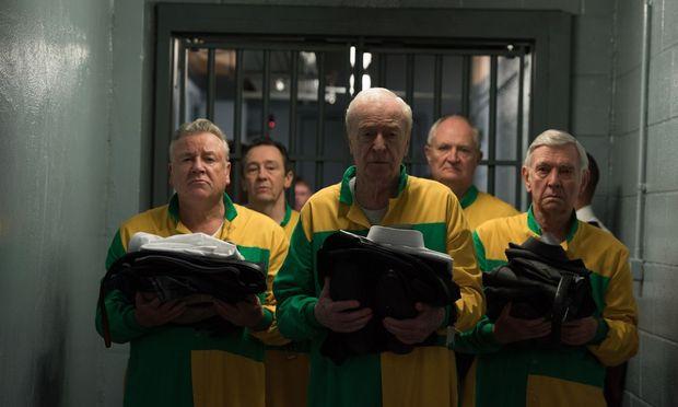"""Altstars als alte Kriminelle (in der Mitte: Michael Caine) im Film """"Ein letzter Job""""."""