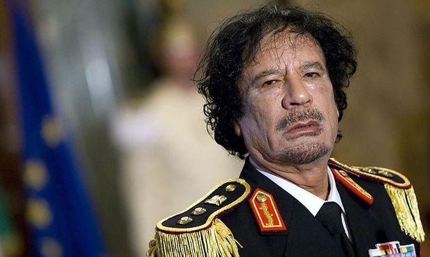 Gaddafi anno 2009 in Rom