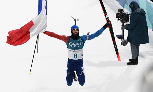 Nächste Biathlon-Medaille Doll holt Bronze in der Olympia-Verfolgung - Fourcade siegt