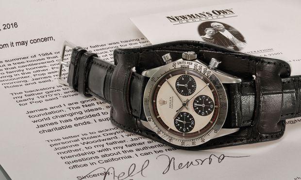 """""""Rolex Daytona"""" von Paul Newman ist die teuerste Armbanduhr der Welt. / Bild: (c) Beigestellt"""