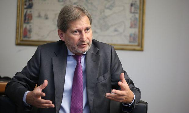Erweiterungskommissar Johannes Hahn.