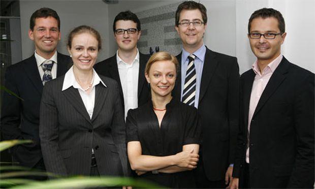 Gunther Fürstberger, Rita Kaufmann-Linke, Wolf Heinrich Reuter, Evelin Mayr, Werner Weingraber und Bernhard Wundsam (v.l.n.r.).