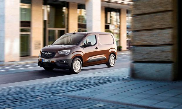 Alles im Blick: Opel Combo.