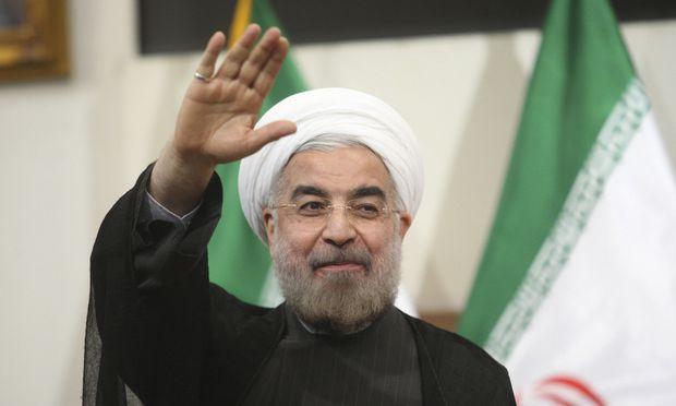 Irans Staatsoberhaupt Hassan Rohani.