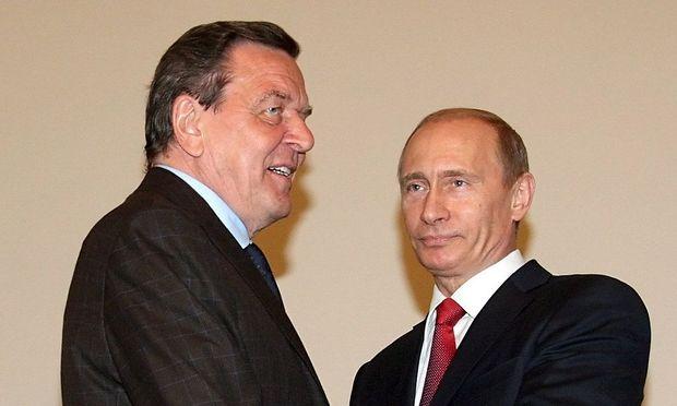 RUSSIA NORD STREAM SCHROEDER