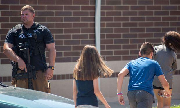 Zwei Verletzte bei Scheißerei in einer Schule in Indiana