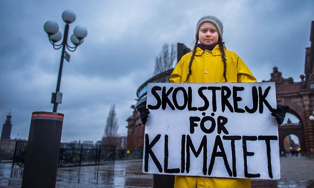 16-jährige Klimaaktivistin mit emotionalem Appell in Davos
