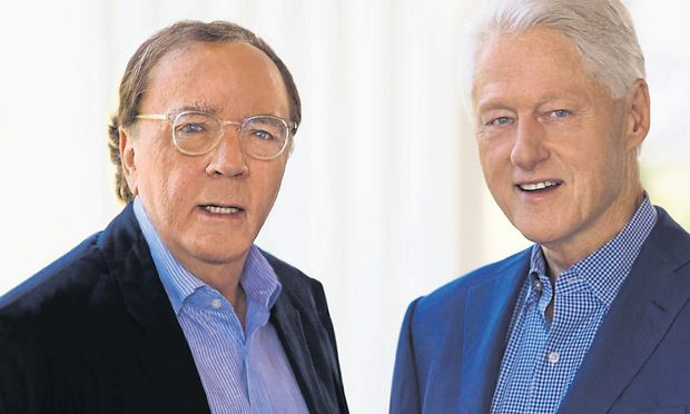 Zwei vom alten Schlag: James Patterson und Bill Clinton erweisen sich als solide Politthriller-Autoren.