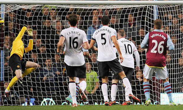 FUSSBALL - PL, Aston Villa vs Manchester