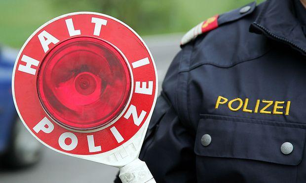 Haltekelle der Oest. Polizei