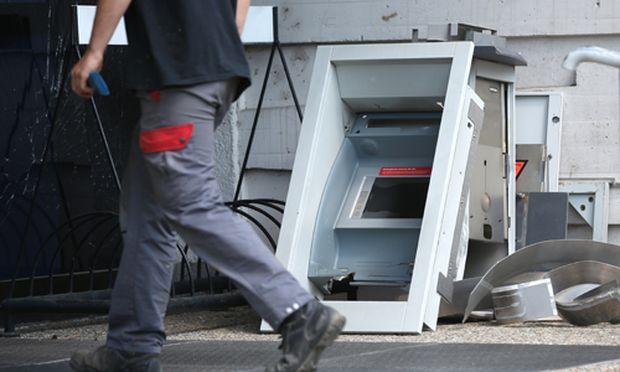 Dienstag in der Früh wurde ein Bankomat in Wien-Brigittenau gesprengt.