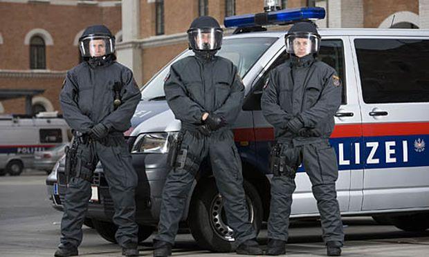 zeigt Reportageserie Polizeieinheit WEGA