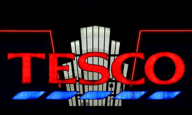 Das Logo des Einzelhändlers.