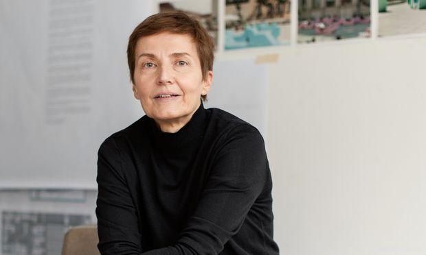 Anna Popelka. Gemeinsam mit Georg Poduschka gründete und führt sie das Büro PPAG Architects.