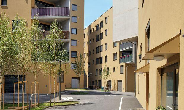Bruch mit Konventionen. In der Seestadt Aspern realisierten PPAG Architects das Projekt Slim City.