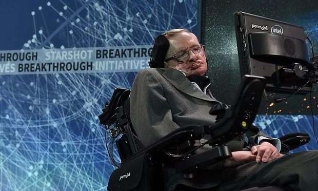 Der berühmte Physiker Stephen Hawking