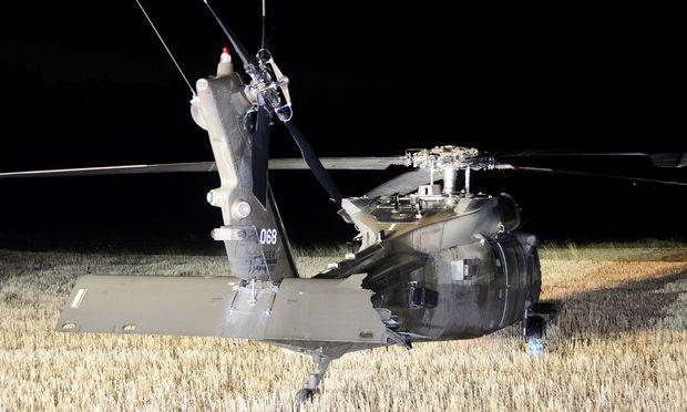 US-Black Hawk im Bezirk Krems notgelandet