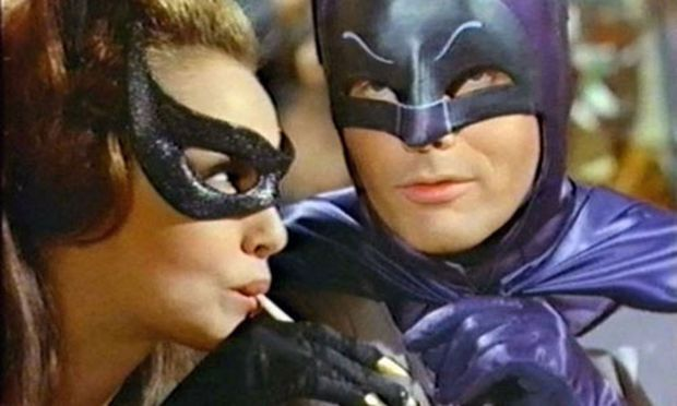 Julie Newmar und Adam West