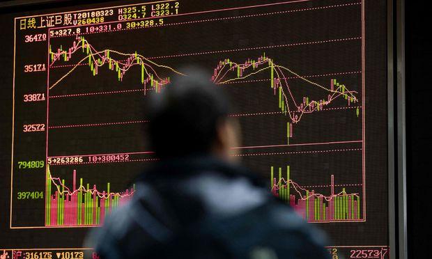 Risikofreudige Anleger können gerade jetzt ein Auge auf China werfen. / Bild: (c) APA/AFP/NICOLAS ASFOURI