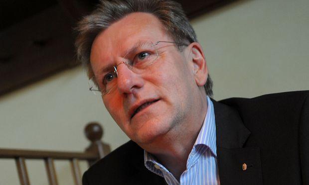 Oberösterreichs Landesschulratspräsident Fritz Enzenhofer