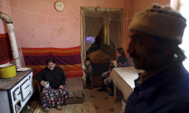 RomaViertel Ungarn trotz Hitze