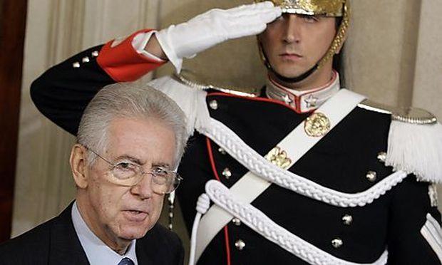 Italien: Montis Expertenregierung steht
