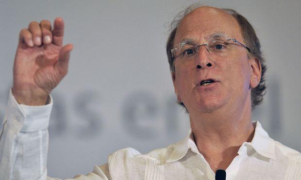 Blackrock-Chef Larry Fink: mehr Gewinn im Quartal