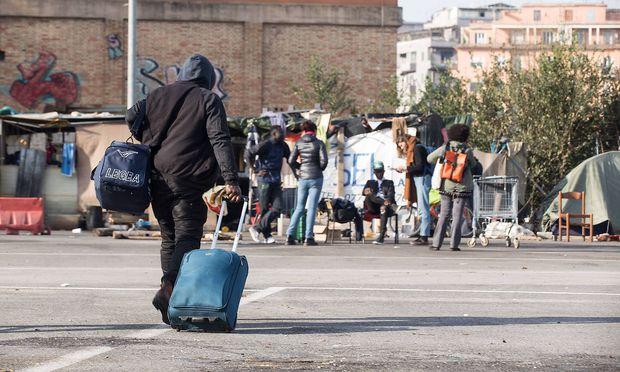 Archivbild: Flüchtlinge in Rom
