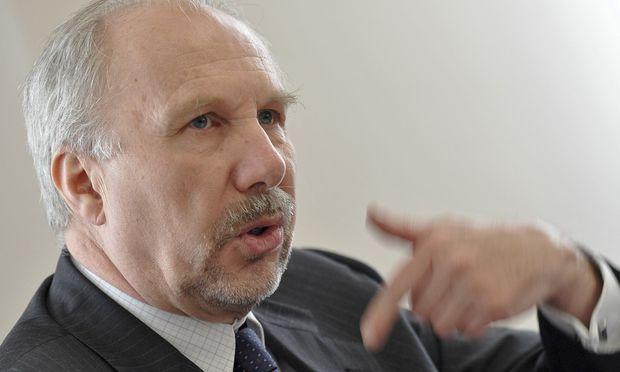 Nationalbank-Chef Ewald Nowotny