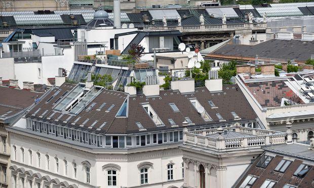 Prestigeobjekt Dachgeschoßwohnung, hier am Ring in Wien.