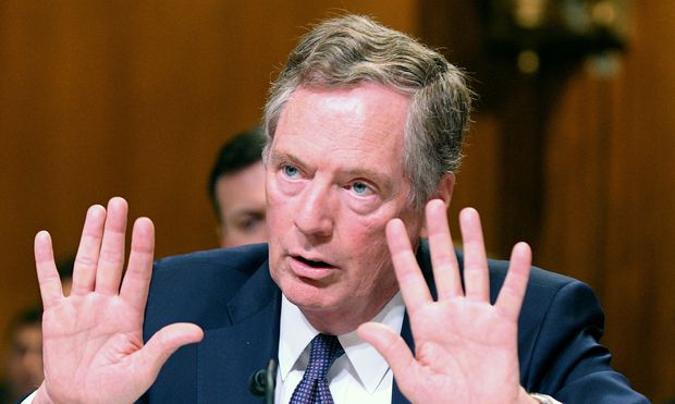 U.S. Trade Representative Robert Lighthizer testifies before Senate Appropriations Commerce, Justice, Science, and Related Agencies Subcommittee hearing in Washington